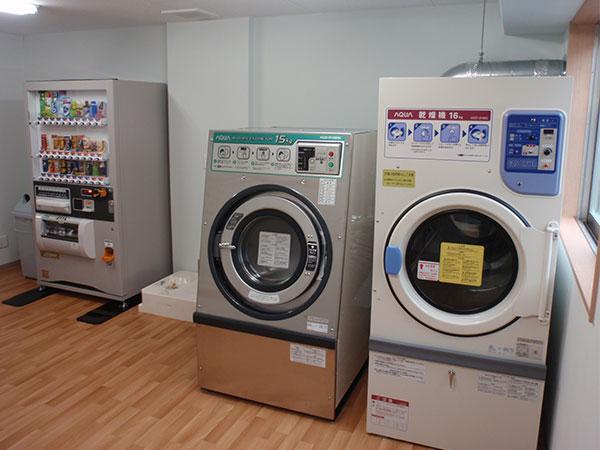 悠優 施設写真 洗濯室